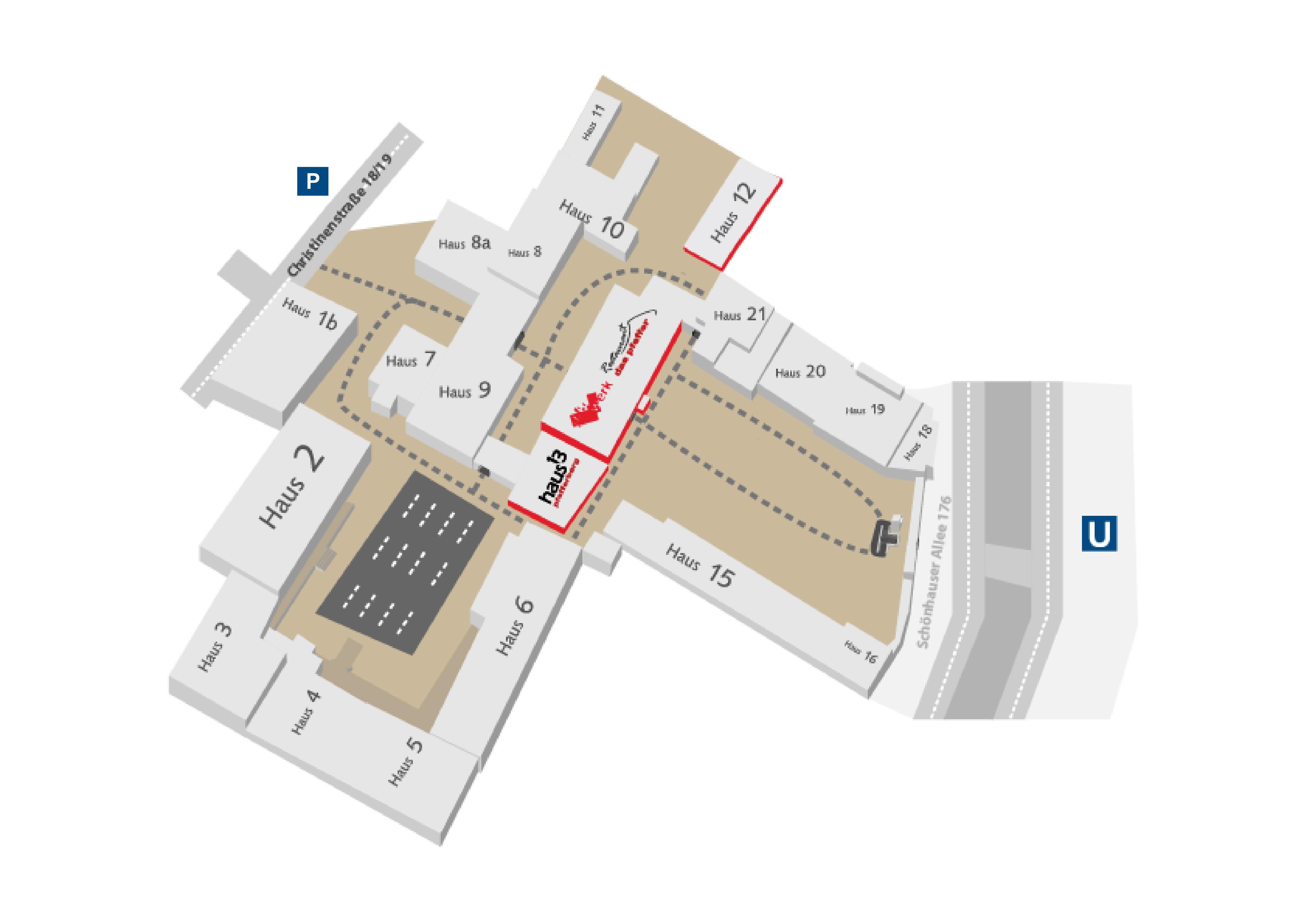 location map - Behandlungsvertrag Muster