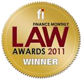 Finance Monthly - Law Awards 2011