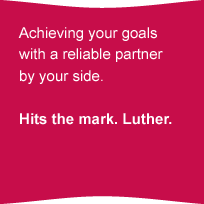 Achieving your goalswith a reliable partnerby your side.